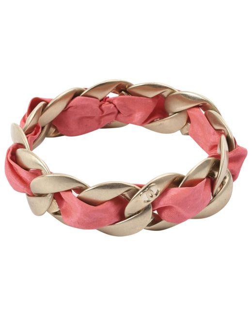 Chanel - Metallic Pre-owned Gold Metal Bracelets - Lyst