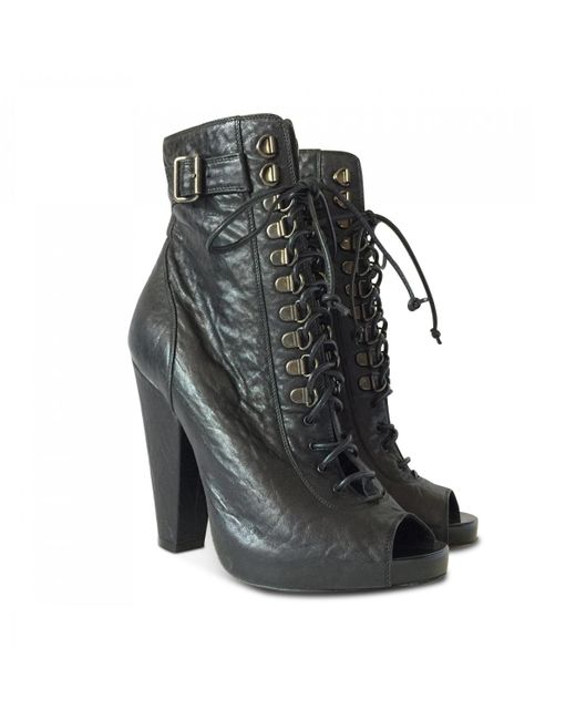 Pre-owned - Leather lace up boots Givenchy PIQADZQ