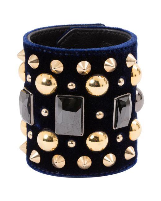 Givenchy - Black Metal Bracelets - Lyst