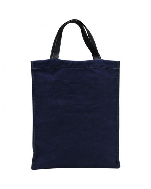 Lanvin - Blue Silk Handbag - Lyst