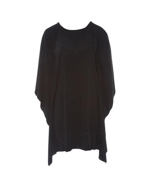 Maison Margiela - Black Mid-length Dress - Lyst