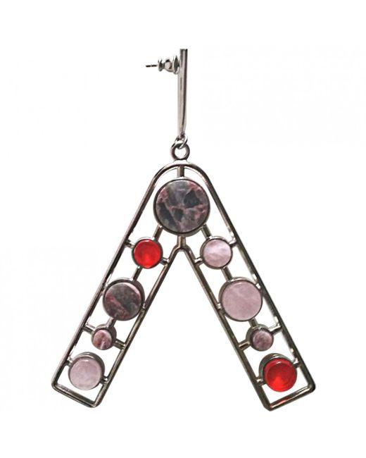 Dior - Metallic Silver Metal Earrings - Lyst