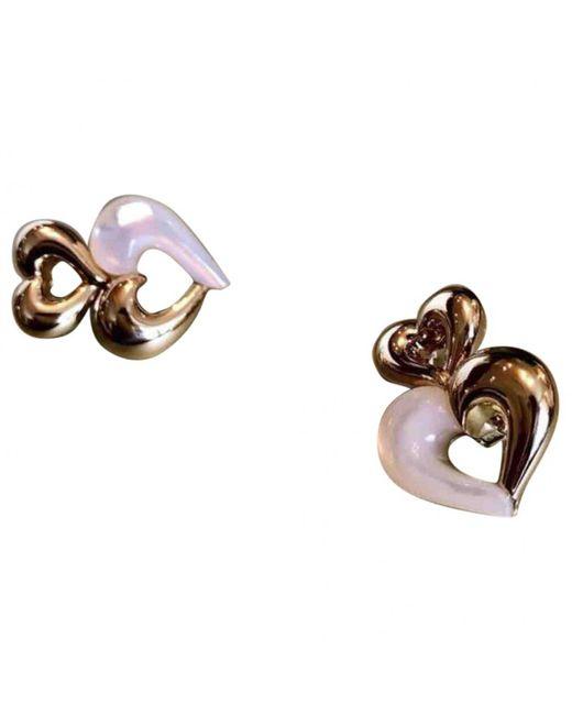Van Cleef & Arpels - Metallic Multicolour Yellow Gold Earrings - Lyst