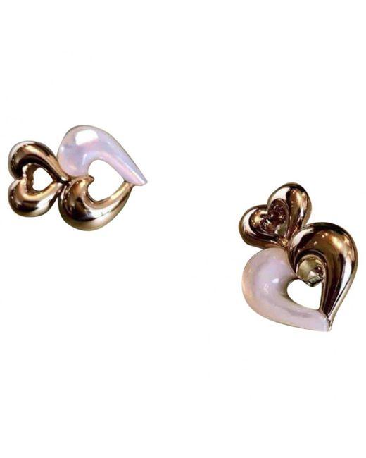 Van Cleef & Arpels - Metallic Pre-owned Yellow Gold Earrings - Lyst