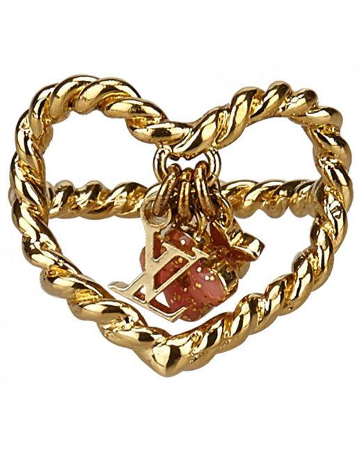 Louis Vuitton - Metallic Monogram Ring - Lyst