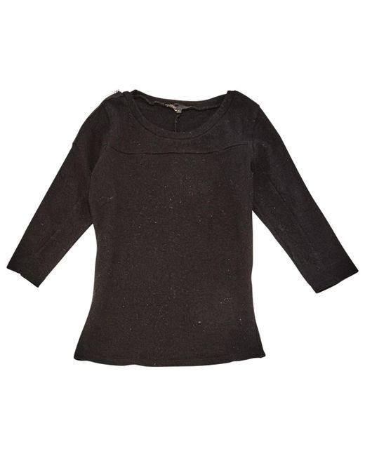 Maje - Black Wool Knitwear - Lyst
