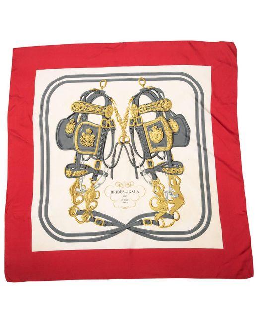 Hermès - Multicolor Pre-owned Vintage Carré 90 Multicolour Silk Silk Handkerchief - Lyst