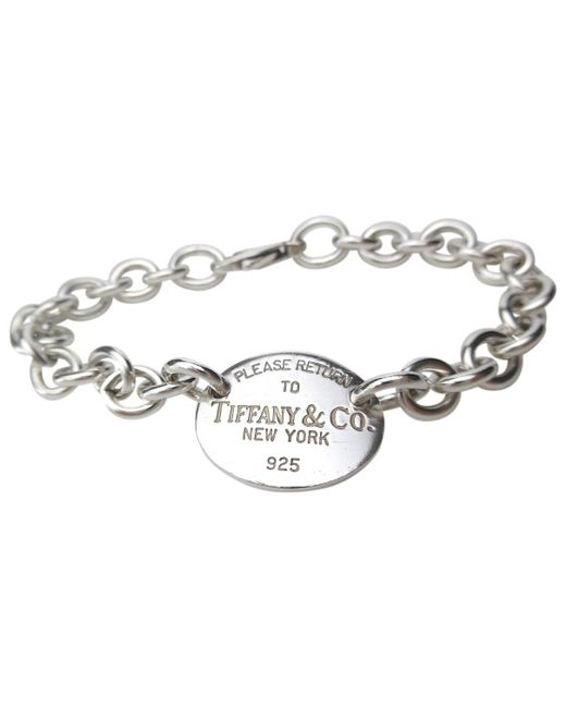 34737d994 Tiffany & Co. Return To Tiffany Silver Silver in Metallic - Lyst