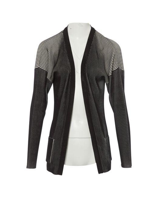 Hermès - Black Silk Cardigan - Lyst