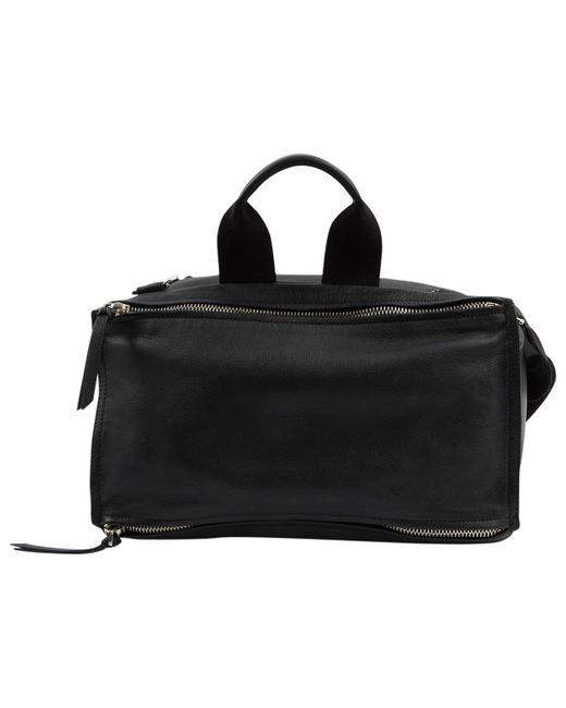 Givenchy - Black Leather Bag for Men - Lyst