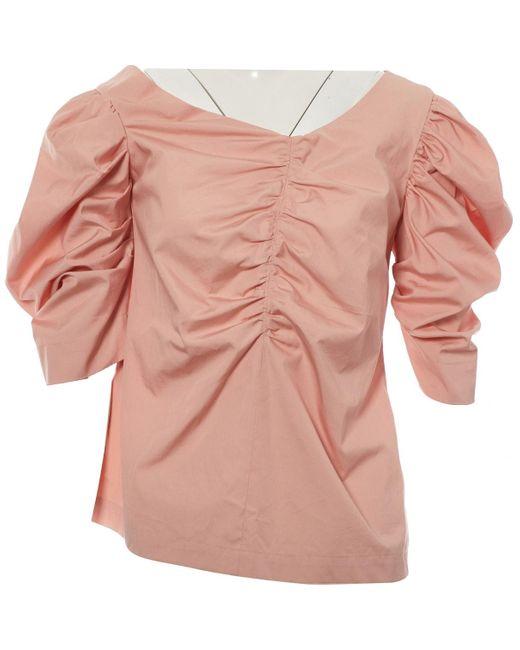 Isa Arfen Pink Bluse