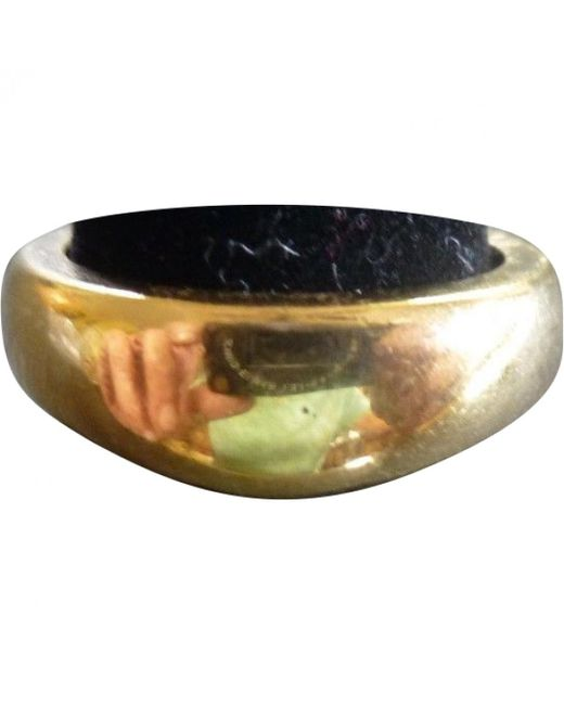Cartier - Metallic Pre-owned Vintage Other Yellow Gold Ring - Lyst
