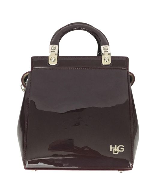 Givenchy - Black Pre-owned House De Patent Leather Crossbody Bag - Lyst