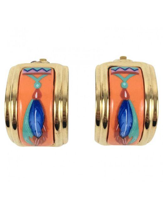Hermès - Multicolor Earrings - Lyst