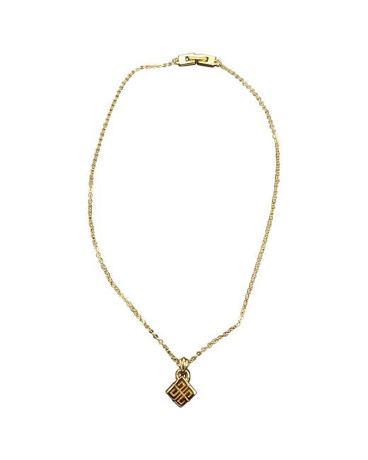 Givenchy - Metallic Vintage Gold Metal Necklace - Lyst