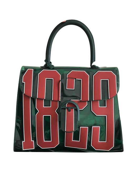 Delvaux - Le Brillant Green Plastic Handbag - Lyst