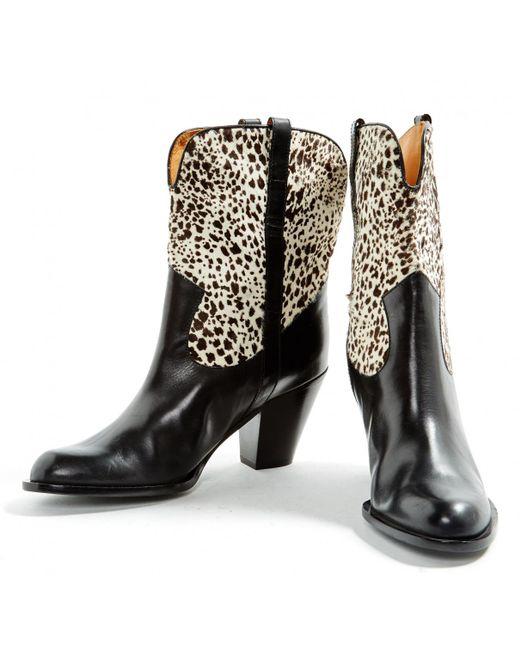 o3HQQVucfL Pony-style Calfskin Cowboy Boots xxxRaPl