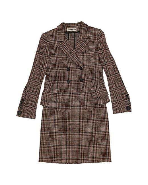 Sonia Rykiel - Pre-owned Vintage Brown Wool Jumpsuits - Lyst