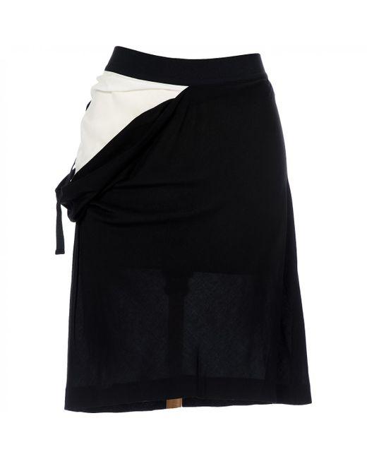 Ann Demeulemeester - Black Mid-length Skirt - Lyst