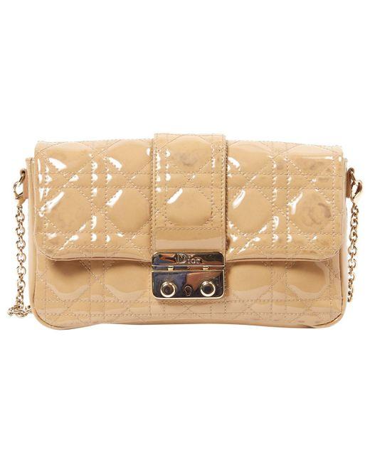 Dior - Natural Miss Patent Leather Handbag - Lyst