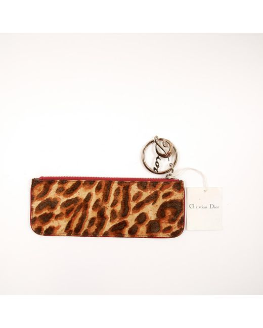 2bc98c92c2f4 ... Dior - Natural Pony-style Calfskin Clutch Bag - Lyst ...