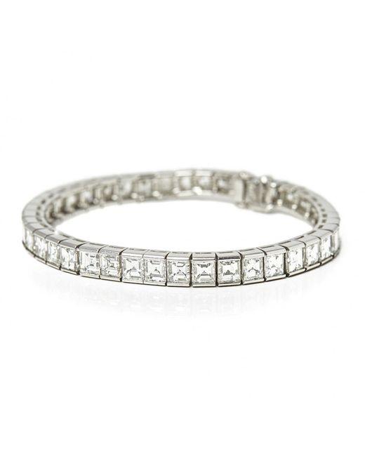 Cartier - White Platinum Bracelets - Lyst