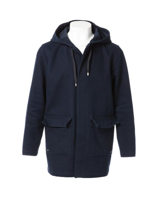 A.P.C. - Blue Coat for Men - Lyst