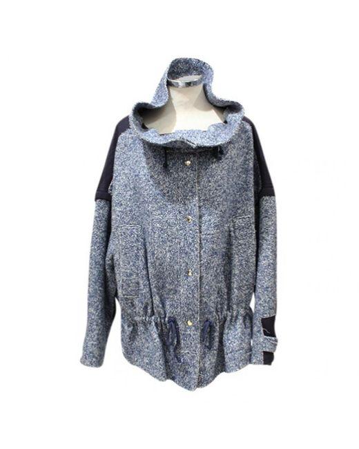 Chloé - Blue Short Vest - Lyst