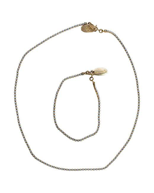 Isabel Marant - Blue Crystal Jewellery Set - Lyst