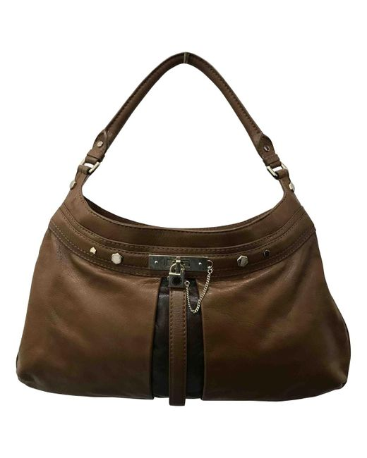 Marc By Marc Jacobs - Brown Pre-owned Leather Handbag - Lyst