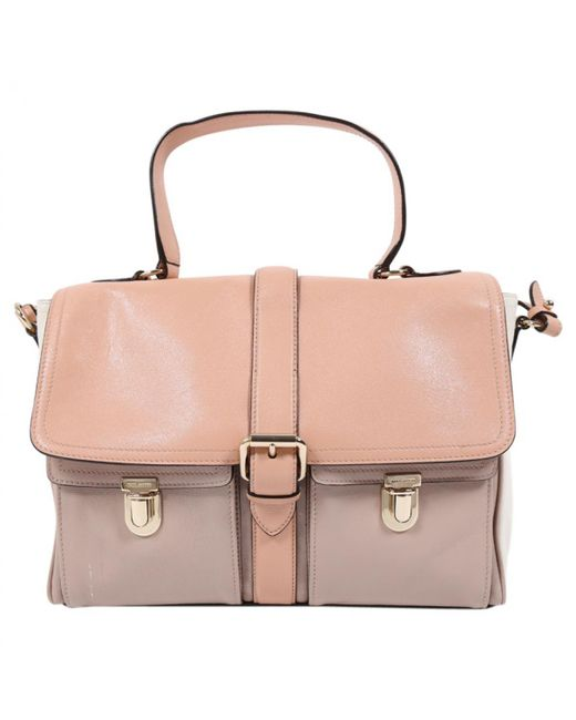 Marc Jacobs | Pink Pre-owned Single Leather Satchel | Lyst