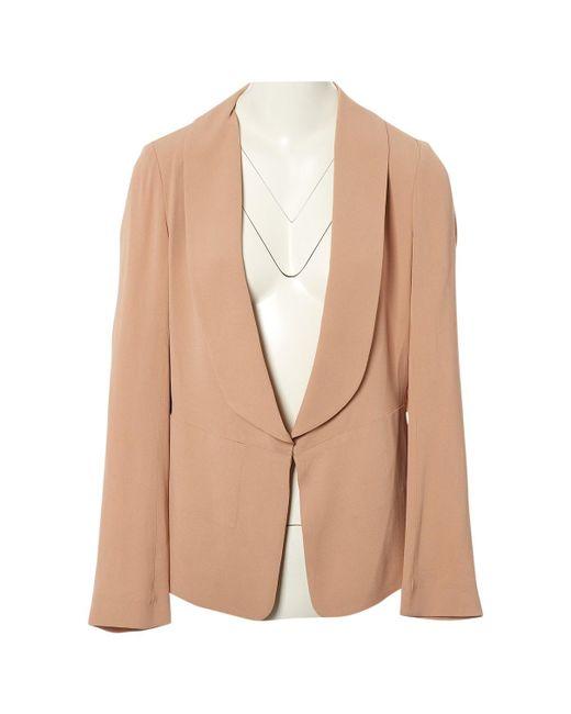 Vanessa Bruno - Pink Viscose Jacket - Lyst