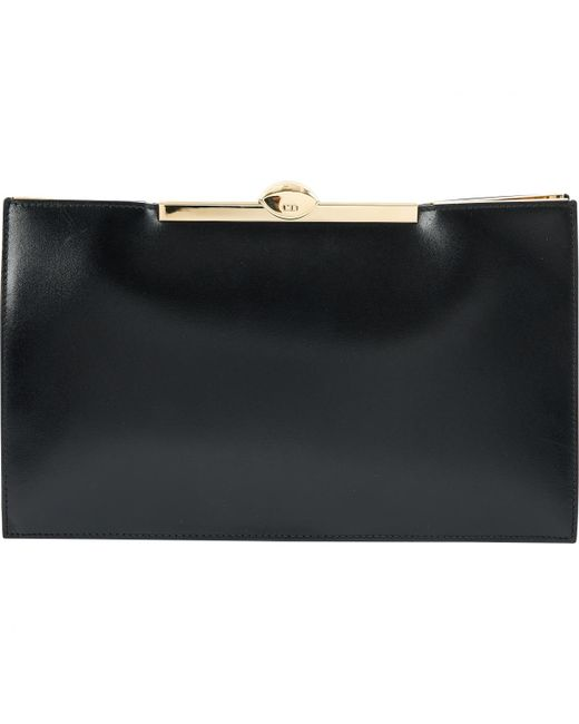 Dior Pre-owned - Leather clutch eQbDX