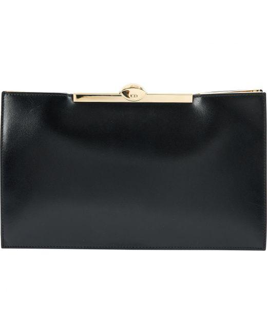 Pre-owned - LEATHER CLUTCH PURSE Dior 8WU8F4I8wA