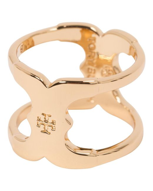 Tory Burch - Metallic Pre-owned Ring - Lyst