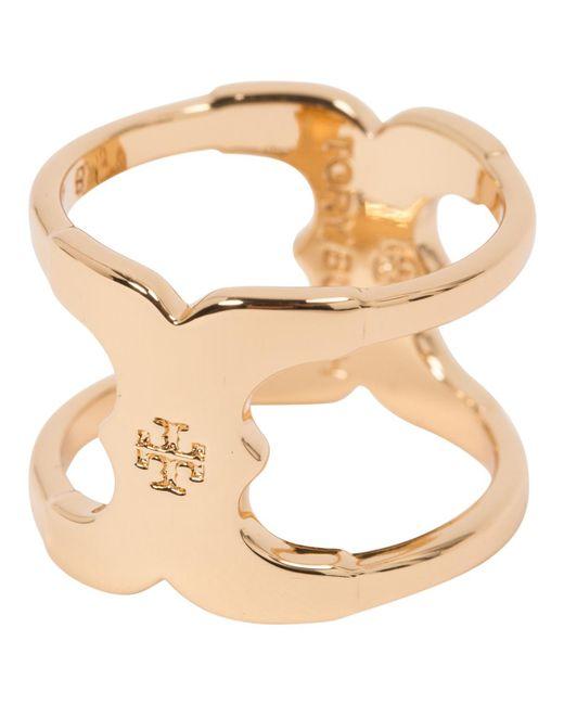Tory Burch - Metallic Ring - Lyst