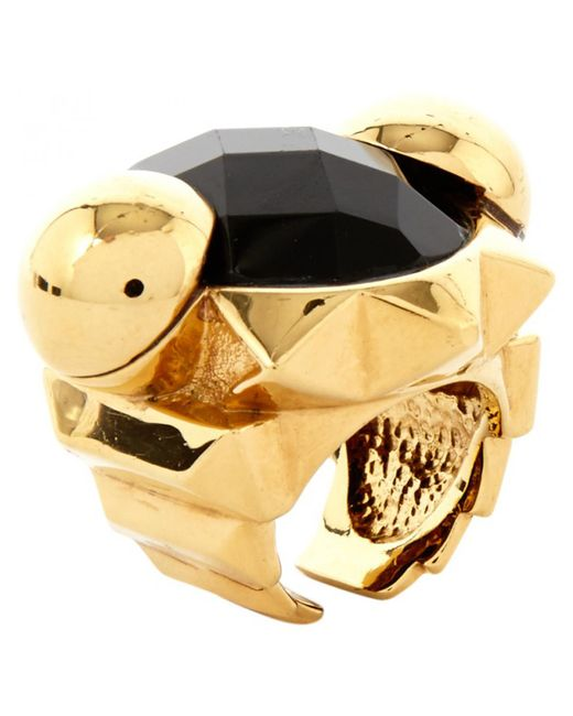 Roberto Cavalli | Metallic Pre-owned Ring | Lyst