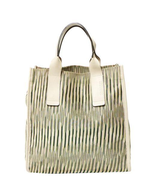 Missoni - Natural Cloth Tote - Lyst