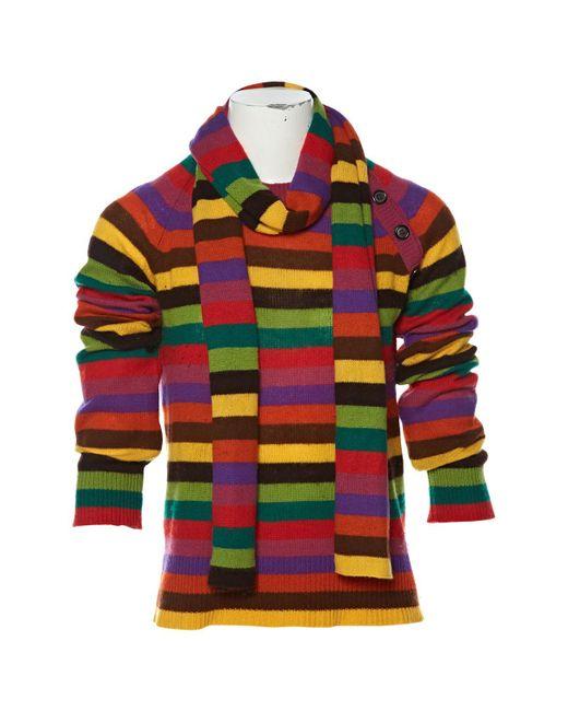 Louis Vuitton - Multicolor Pre-owned Cashmere Jumper - Lyst