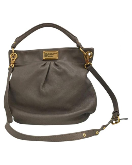 Marc By Marc Jacobs - Multicolor Pre-owned 100% Authentic Classic Q Hillier Leather Hobo Bag - Lyst