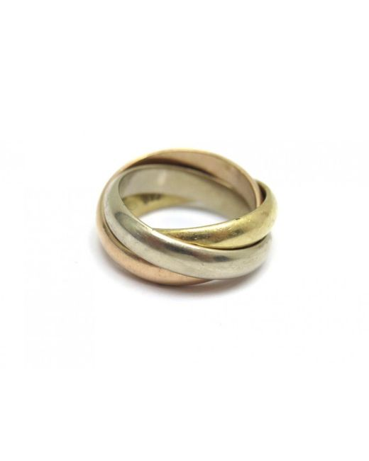 Cartier - Metallic Trinity Other Yellow Gold Ring - Lyst