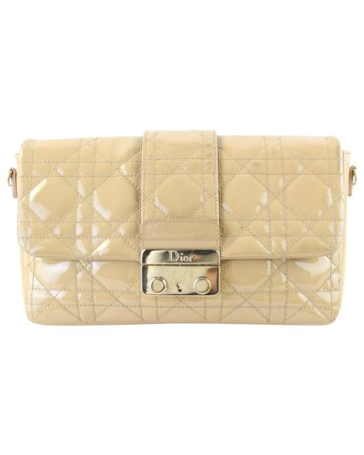 Dior - Natural Miss Leather Crossbody Bag - Lyst