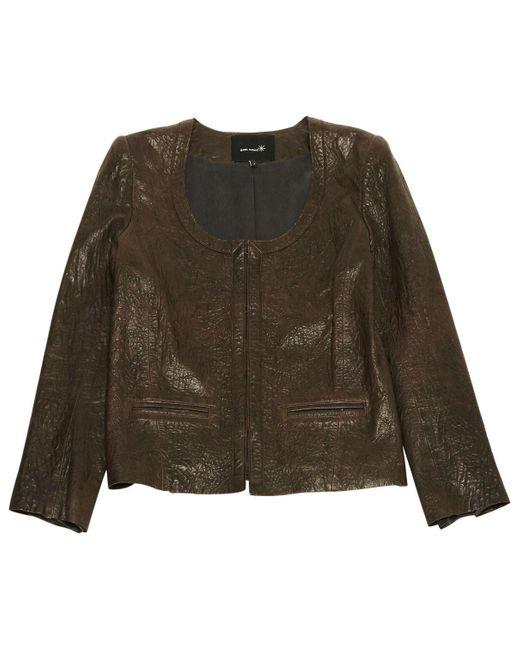 Isabel Marant Brown Leather Jacket