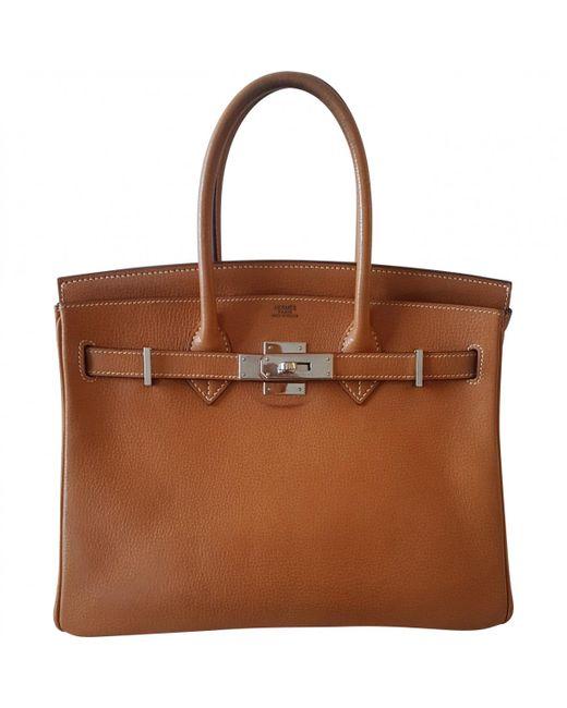 Hermès Pre-owned - Birkin 30 leather handbag zsmQeVP