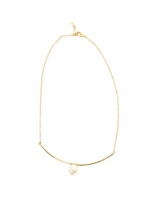 Chloé - Metallic Gold Metal Necklace - Lyst