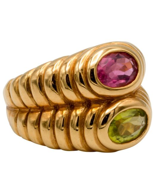 BVLGARI - Metallic Serpenti Gold Yellow Gold - Lyst