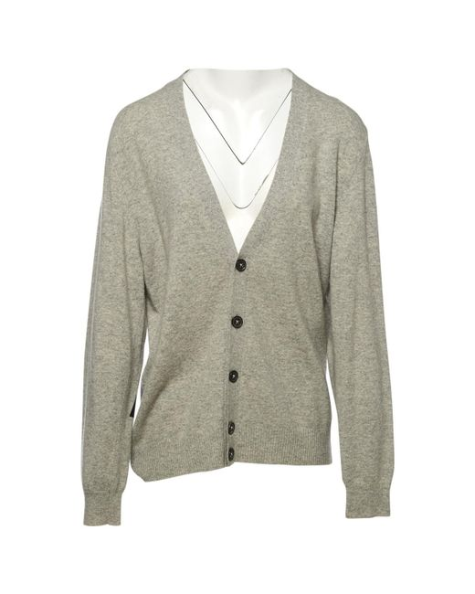 Marc Jacobs - Gray Pre-owned Wool Vest for Men - Lyst