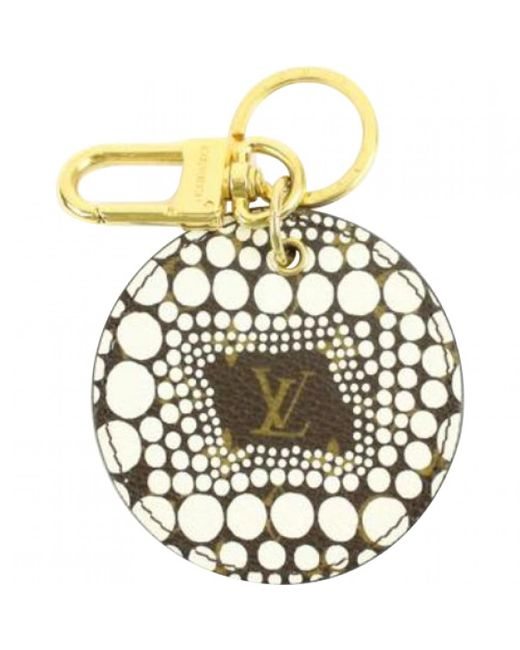 Louis Vuitton - White Pre-owned Accessories - Lyst