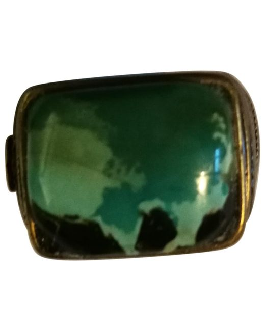 Chanel - Metallic Pre-owned Jade Ring - Lyst