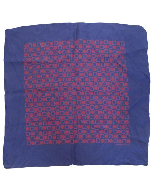 Hermès - Purple Foulard Gavroche 45 en soie for Men - Lyst